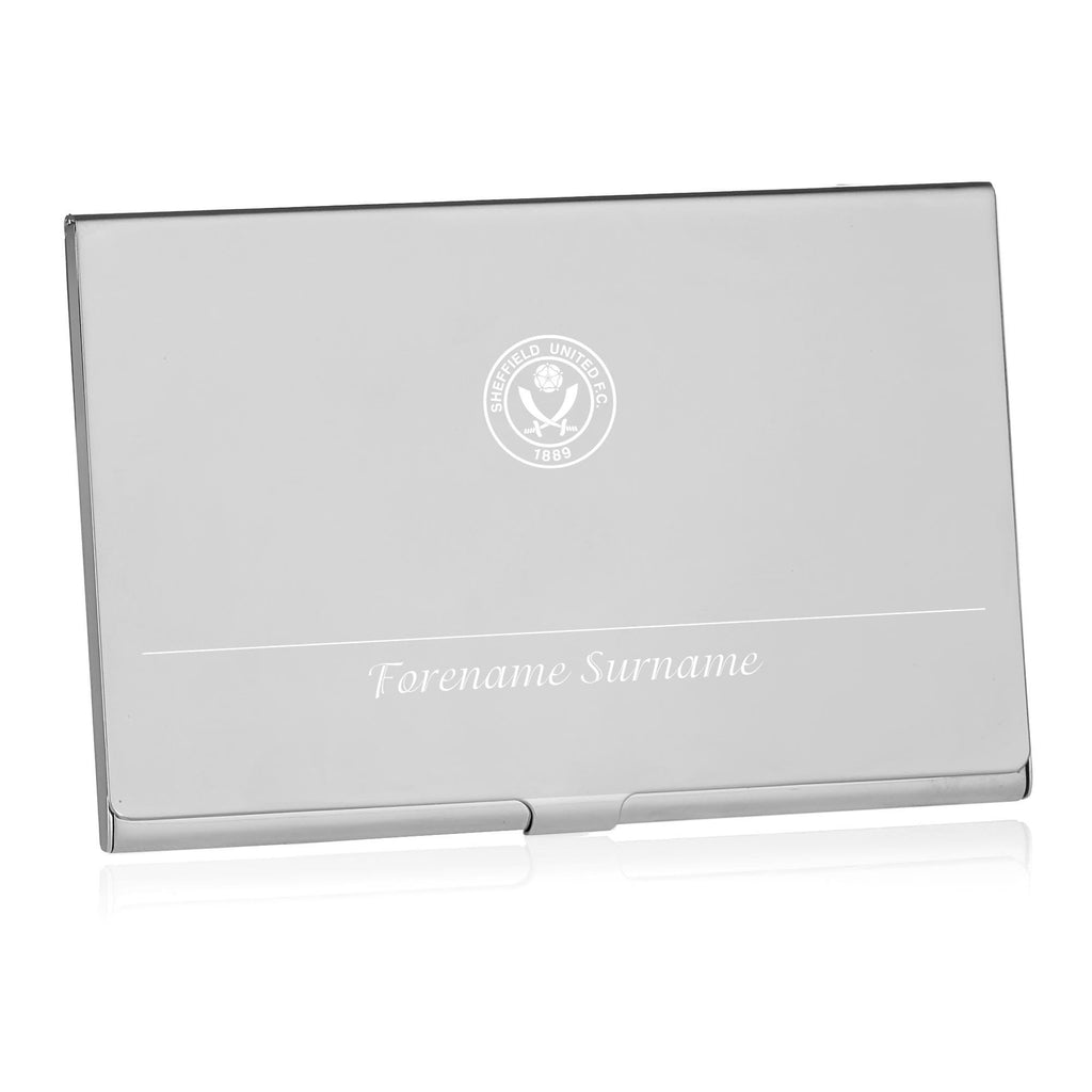 Sheffield United FC Executive Business Card Holder - Official Merchandise Gifts