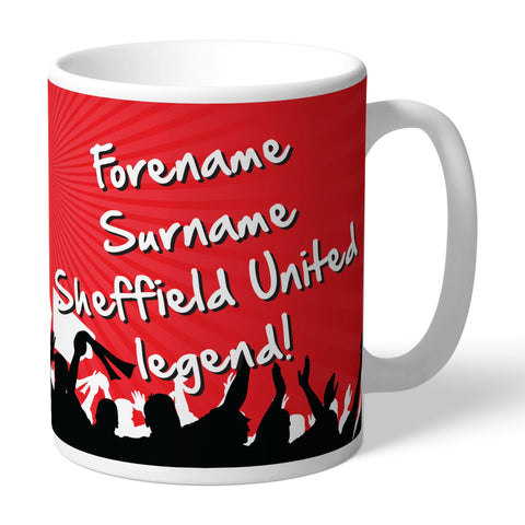 Sheffield United FC Legend Mug - Official Merchandise Gifts
