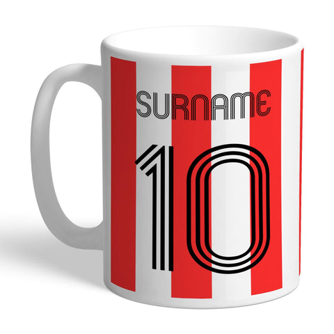 Sheffield United FC Retro Shirt Mug - Official Merchandise Gifts