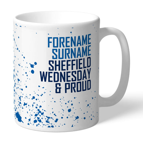 Sheffield Wednesday FC Proud Mug - Official Merchandise Gifts