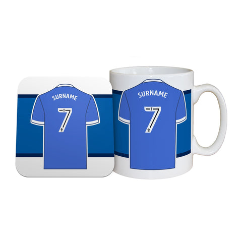 Sheffield Wednesday FC Shirt Mug & Coaster Set - Official Merchandise Gifts