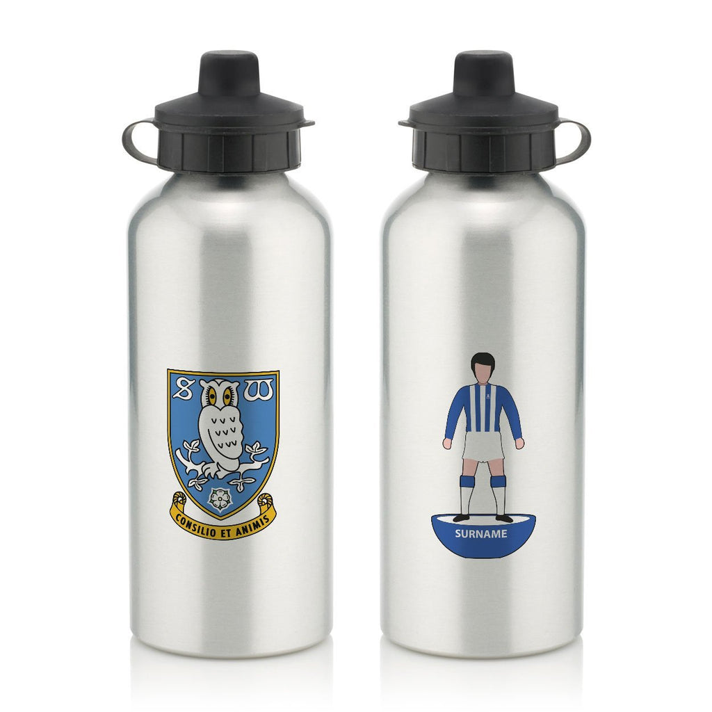 Sheffield Wednesday Player Figure Water Bottle - Official Merchandise Gifts