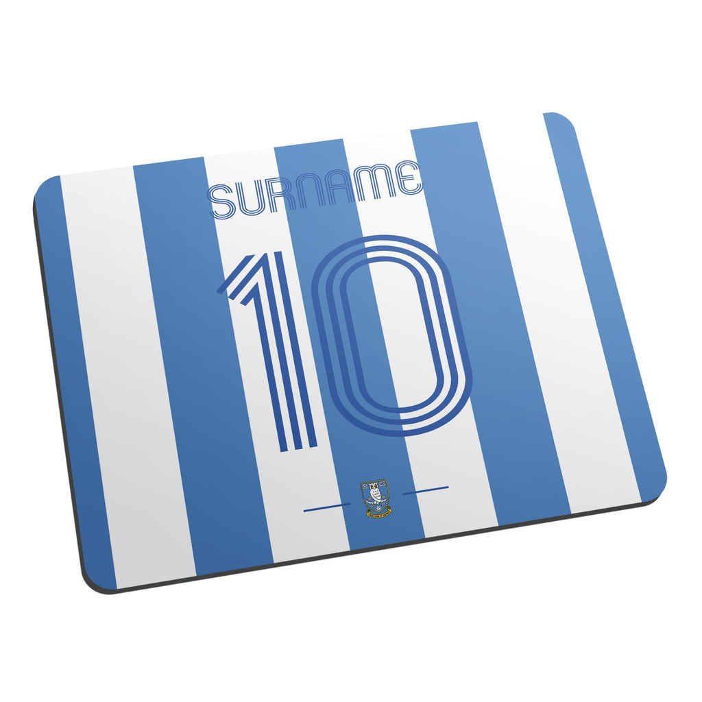Sheffield Wednesday Retro Shirt Mouse Mat - Official Merchandise Gifts