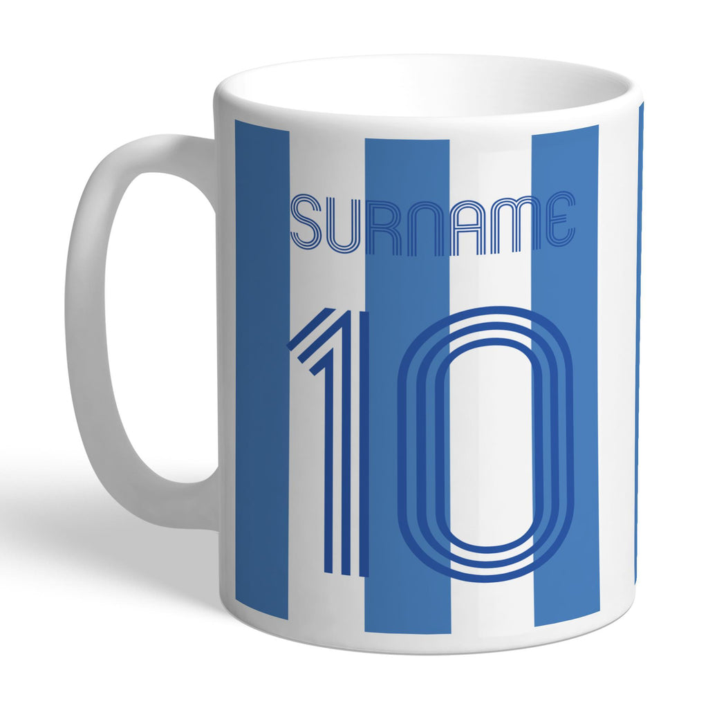 Sheffield Wednesday Retro Shirt Mug - Official Merchandise Gifts