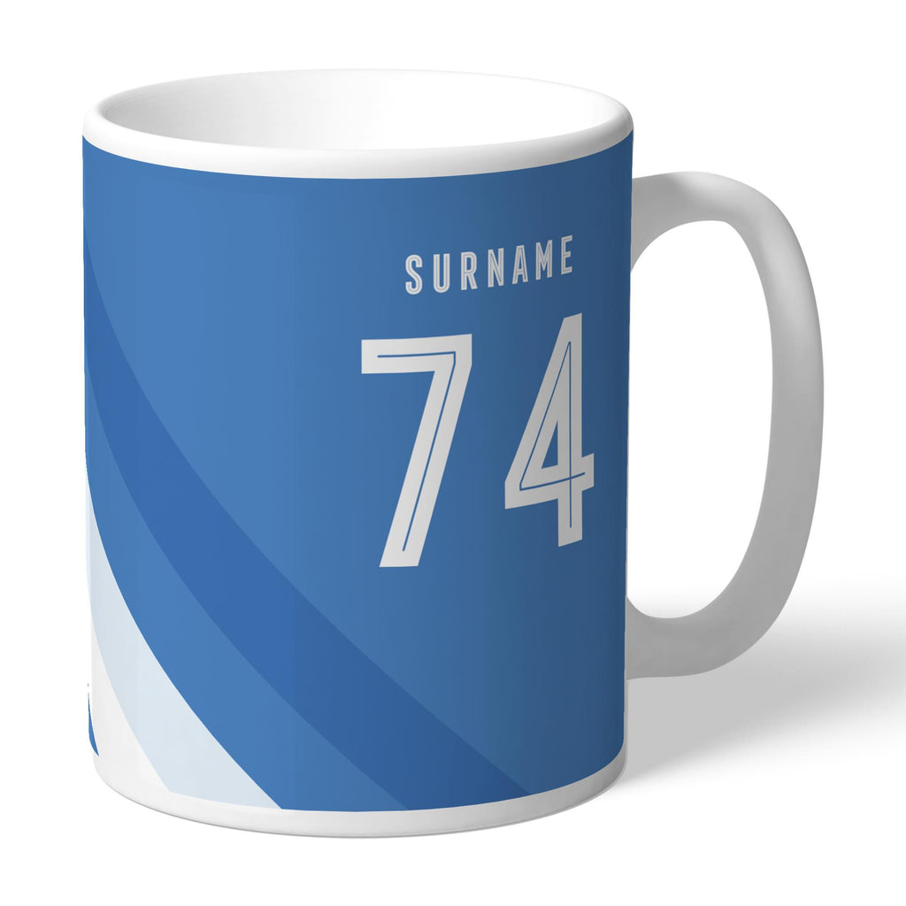 Sheffield Wednesday Stripe Mug - Official Merchandise Gifts