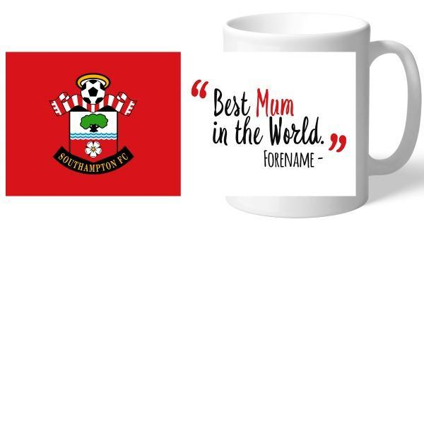 Southampton FC Best Mum In The World Mug - Official Merchandise Gifts
