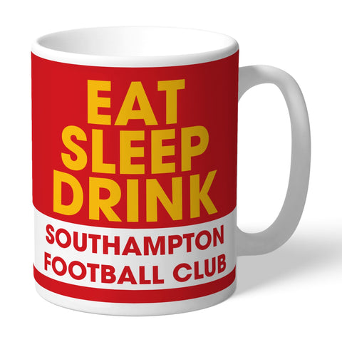 Southampton FC Eat Sleep Drink Mug - Official Merchandise Gifts