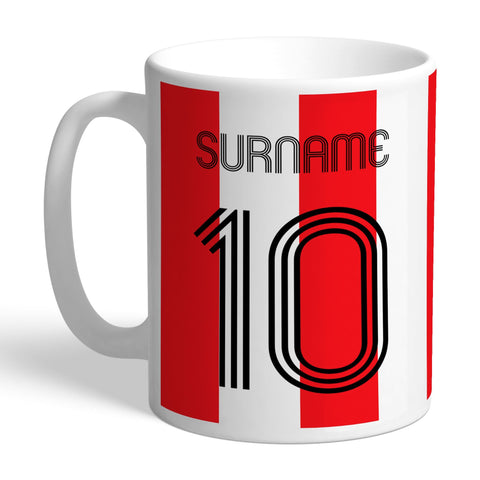 Southampton FC Retro Shirt Mug - Official Merchandise Gifts