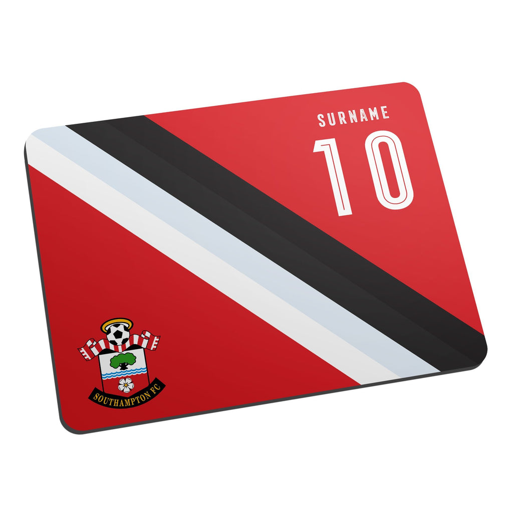 Southampton FC Stripe Mouse Mat - Official Merchandise Gifts