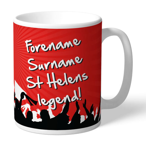 St Helens Legend Mug - Official Merchandise Gifts