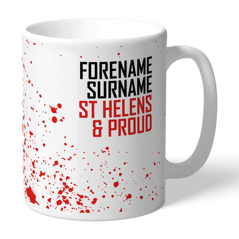 St Helens Proud Mug - Official Merchandise Gifts