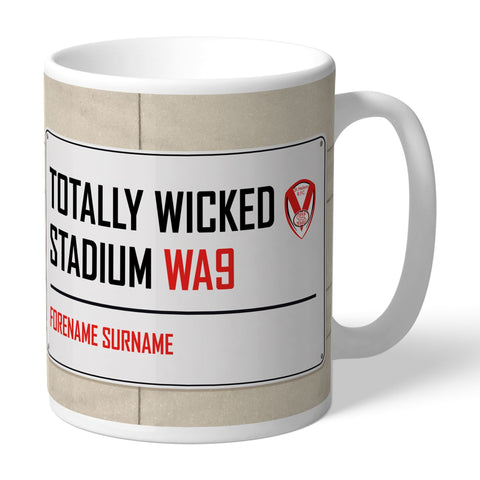 St Helens Street Sign Mug - Official Merchandise Gifts