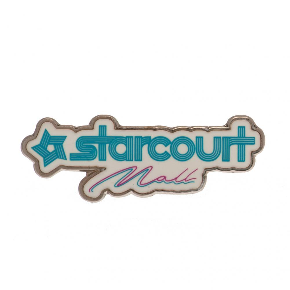 Stranger Things Badge Starcourt Mall, Clothing & Accessories by Glamorous Gifts UK