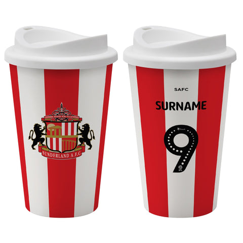Sunderland AFC Back of Shirt Reusable Cup - Official Merchandise Gifts