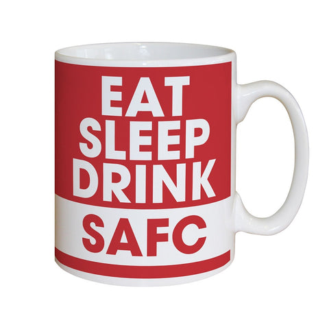 Sunderland AFC Eat Sleep Drink Mug - Official Merchandise Gifts