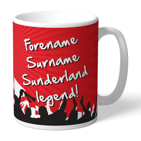 Sunderland AFC Legend Mug - Official Merchandise Gifts