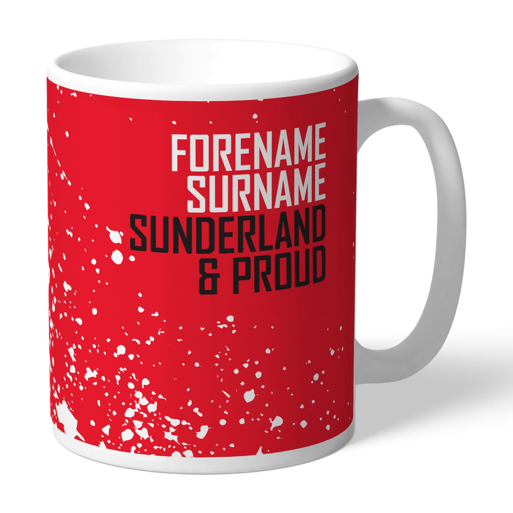 Sunderland AFC Proud Mug - Official Merchandise Gifts