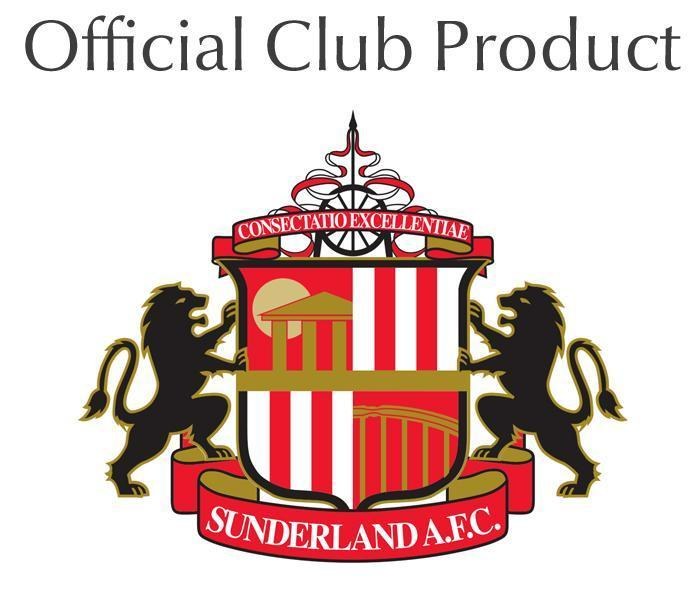 Official Personalised Sunderland AFC Retro Shirt Water Bottle