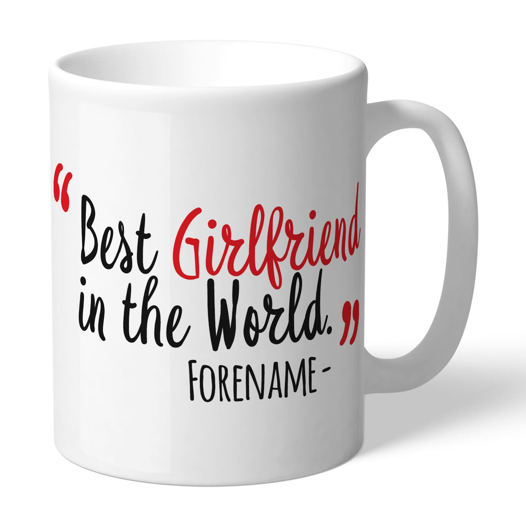 Sunderland Best Girlfriend In The World Mug - Official Merchandise Gifts
