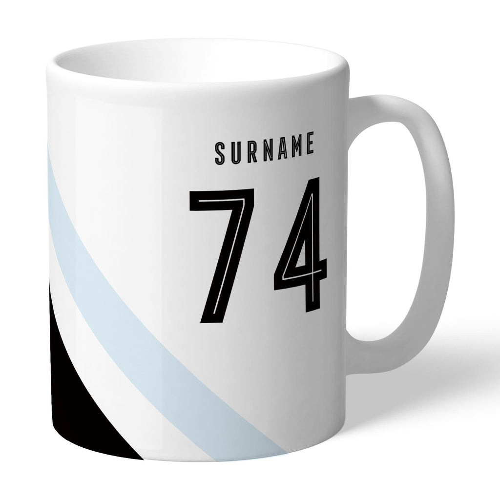 Swansea City Stripe Mug - Official Merchandise Gifts