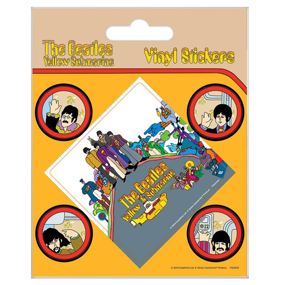 The Beatles Stickers Yellow Submarine, Art & Crafting Materials by Glamorous Gifts UK