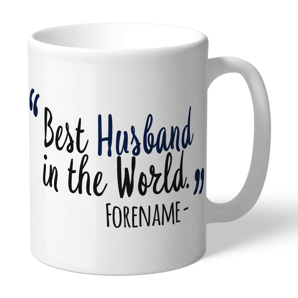 Tottenham Hotspur Best Husband In The World Mug - Official Merchandise Gifts