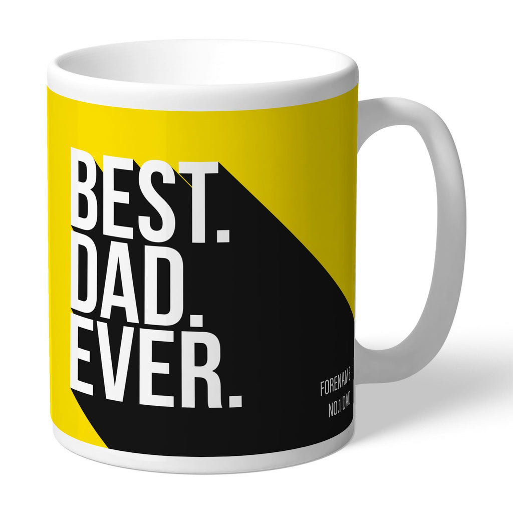 Watford FC Best Dad Ever Mug - Official Merchandise Gifts