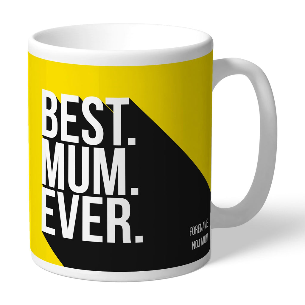 Watford FC Best Mum Ever Mug - Official Merchandise Gifts