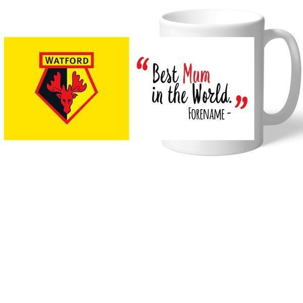 Watford FC Best Mum In The World Mug - Official Merchandise Gifts