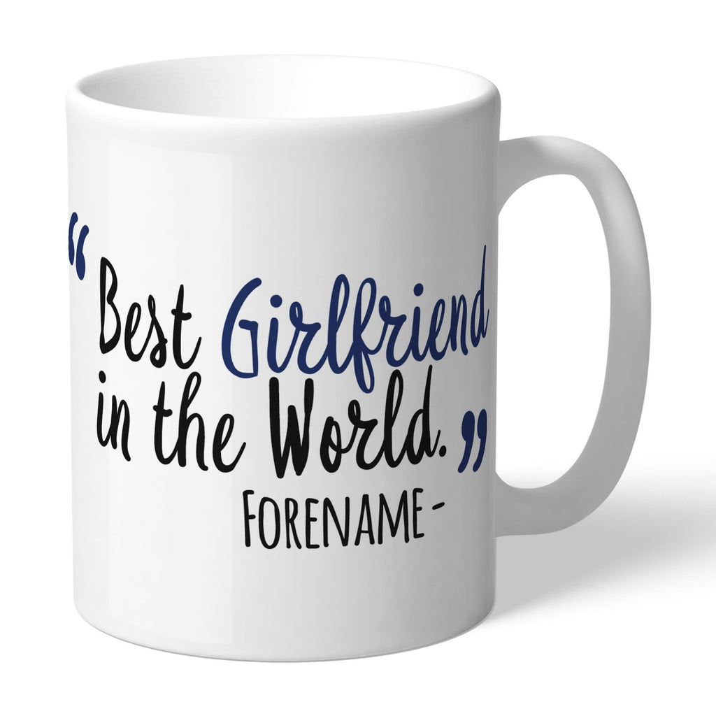 West Bromwich Albion FC Best Girlfriend In The World Mug - Official Merchandise Gifts
