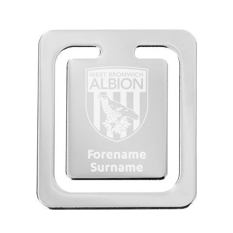 West Bromwich Albion FC Crest Bookmark - Official Merchandise Gifts