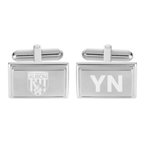 West Bromwich Albion FC Crest Cufflinks - Official Merchandise Gifts