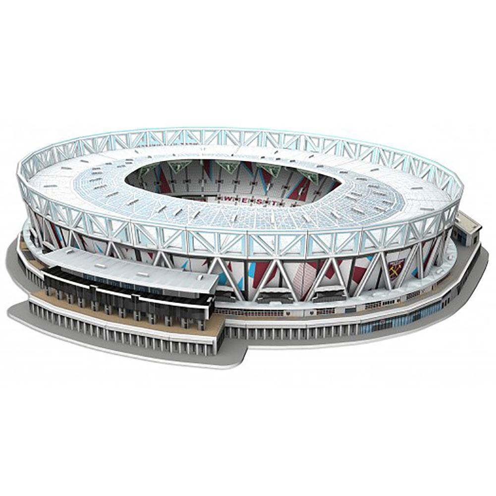 West Ham United FC 3D Stadium Puzzle, Toys & Games by Glamorous Gifts