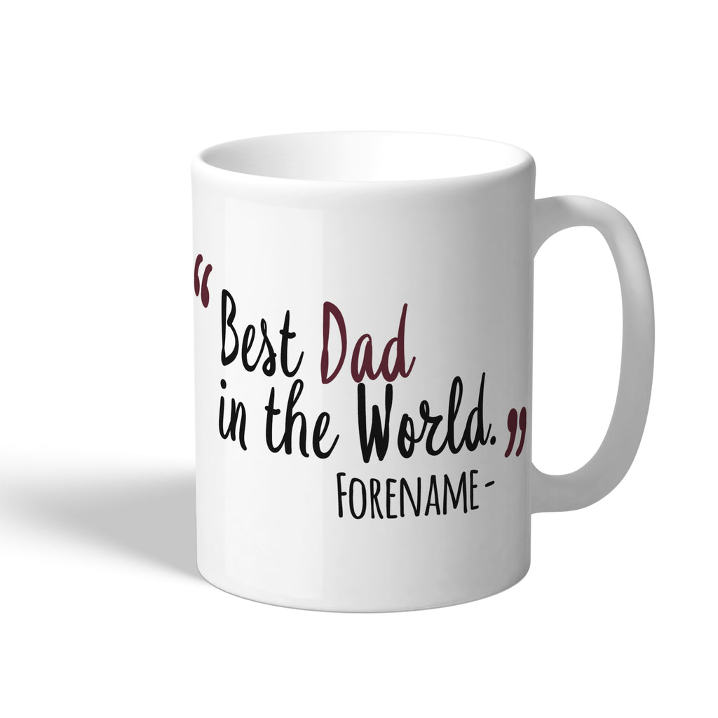 West Ham United FC Best Dad In The World Mug - Official Merchandise Gifts