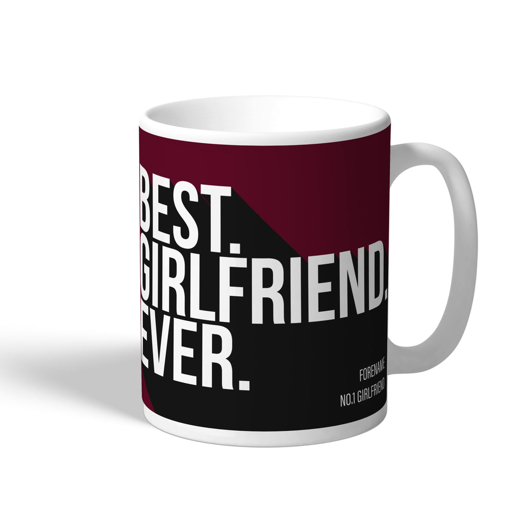 West Ham United FC Best Girlfriend Ever Mug - Official Merchandise Gifts