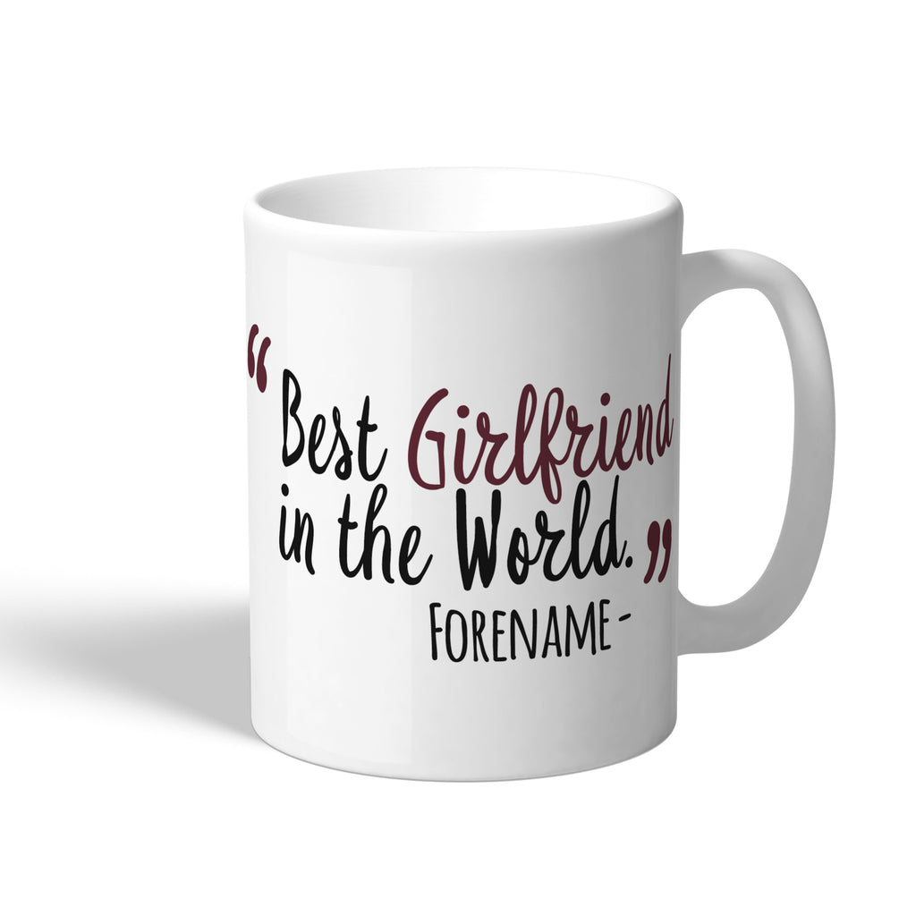 West Ham United FC Best Girlfriend In The World Mug - Official Merchandise Gifts