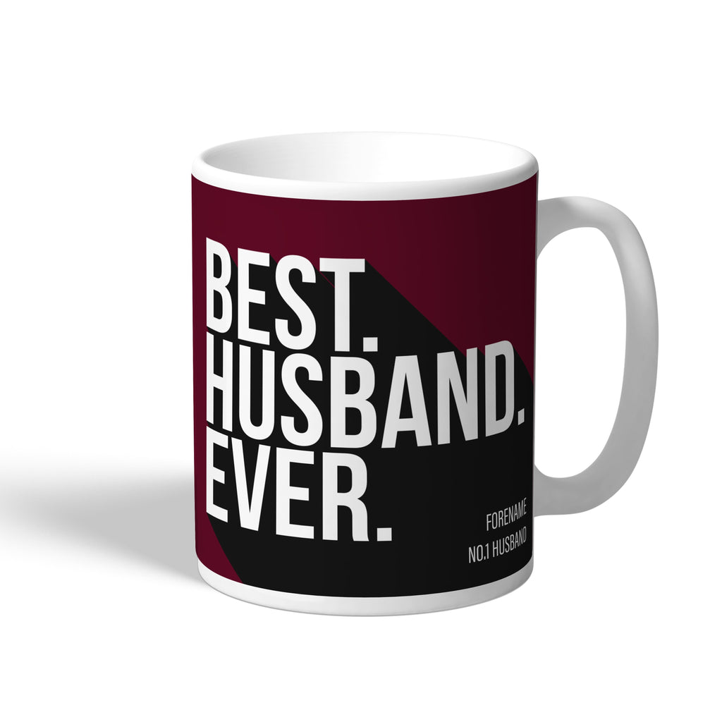 West Ham United FC Best Husband Ever Mug - Official Merchandise Gifts