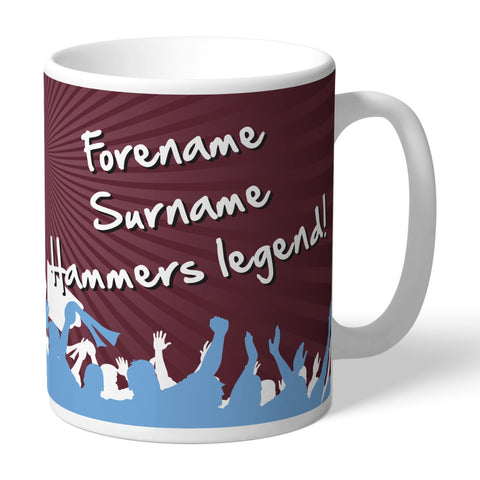 West Ham United FC Legend Mug - Official Merchandise Gifts