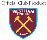 West Ham United FC Personalised Crest Wine Glass - Official Merchandise Gifts