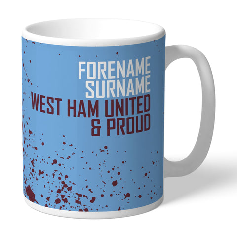 West Ham United FC Proud Mug - Official Merchandise Gifts