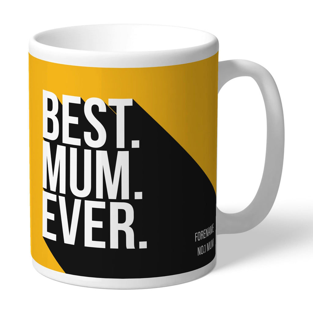 Wolverhampton Wanderers Best Mum Ever Mug - Official Merchandise Gifts