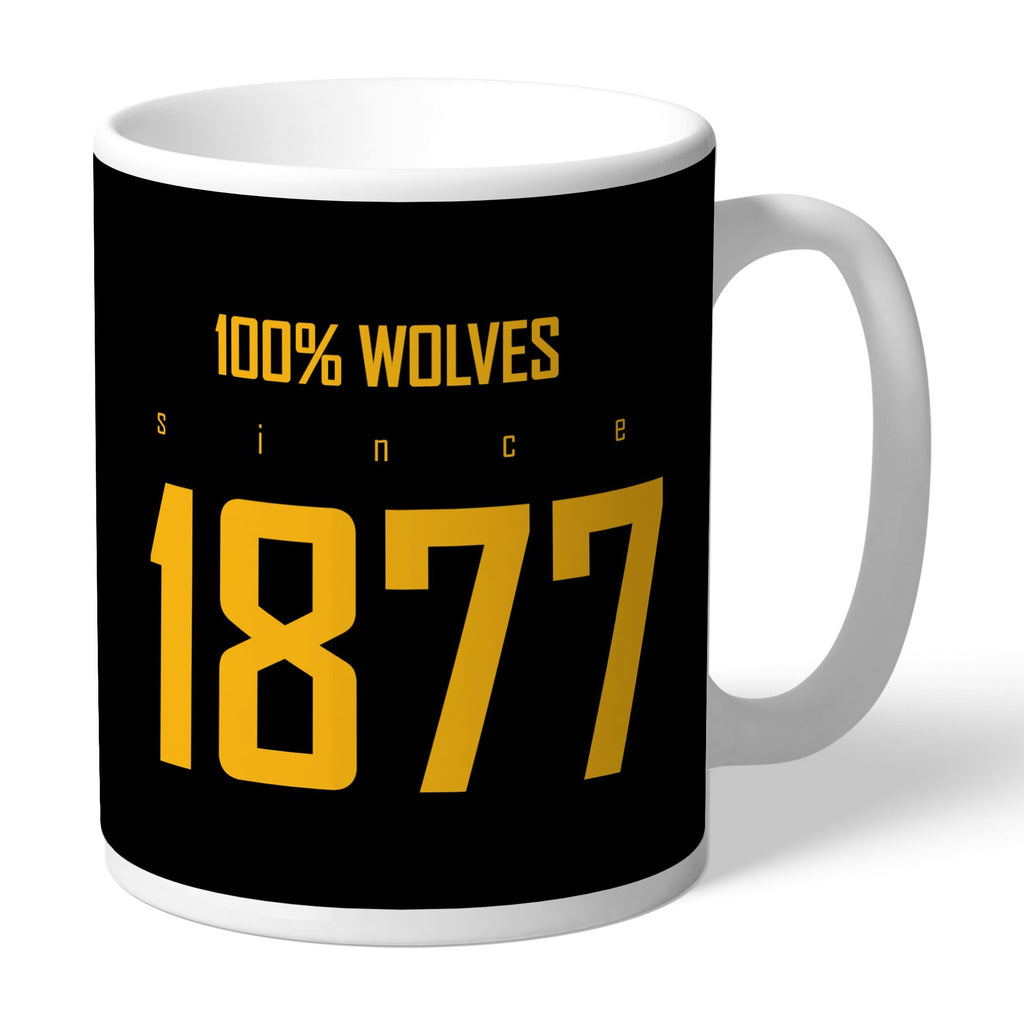 Wolves 100 Percent Mug - Official Merchandise Gifts