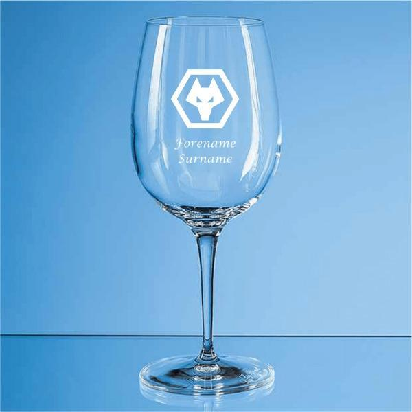 Wolves Crest Allegro Wine Glass - Official Merchandise Gifts