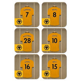 Wolves Dressing Room Coasters - Official Merchandise Gifts