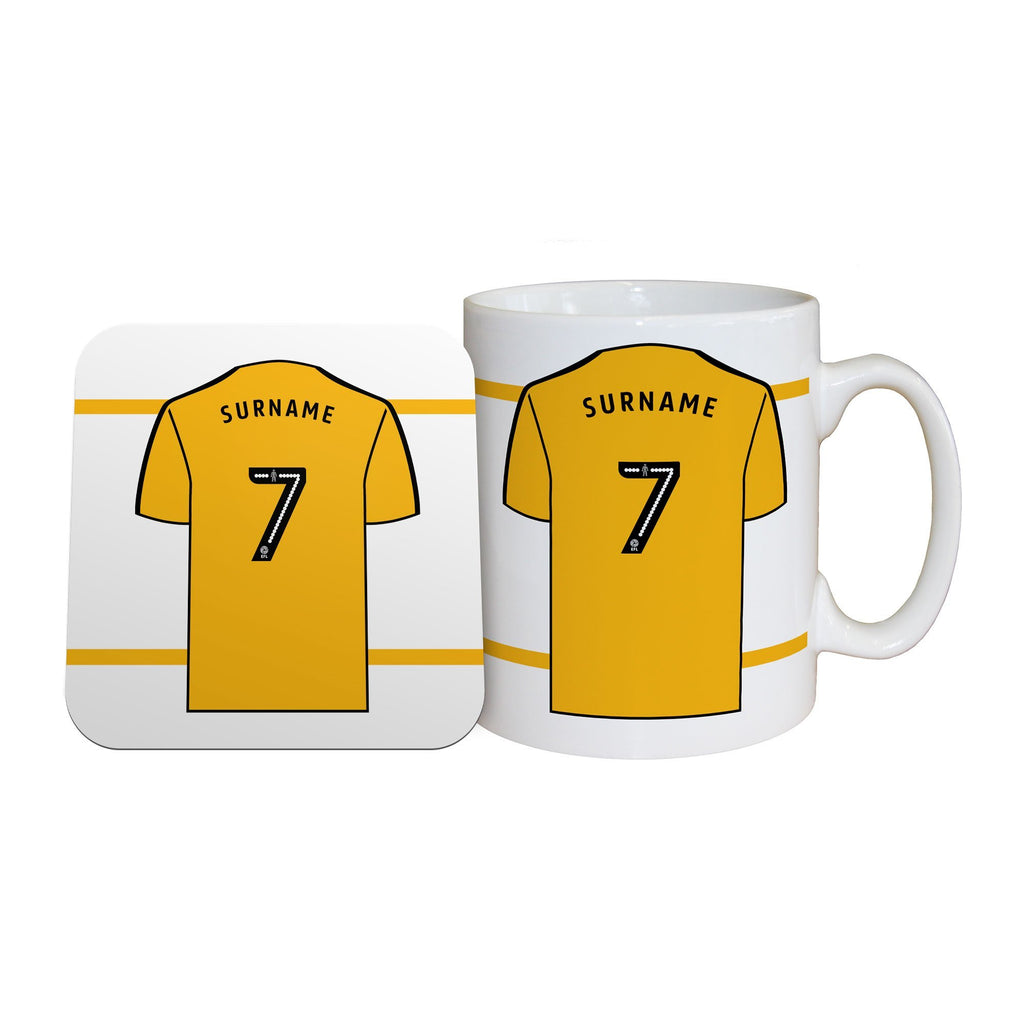 Wolves Shirt Mug & Coaster Set - Official Merchandise Gifts