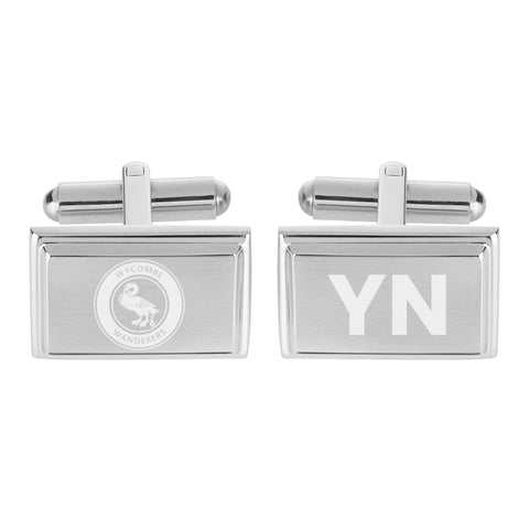 Wycombe Wanderers Crest Cufflinks - Official Merchandise Gifts