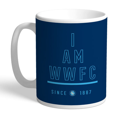 Wycombe Wanderers I Am Mug - Official Merchandise Gifts