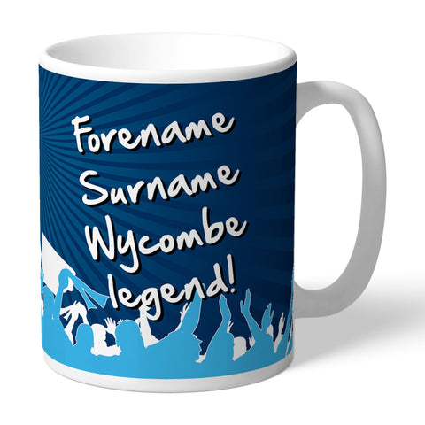 Wycombe Wanderers Legend Mug - Official Merchandise Gifts