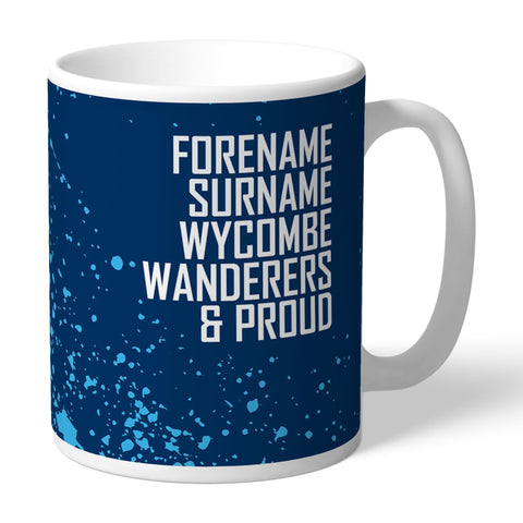 Wycombe Wanderers Proud Mug - Official Merchandise Gifts
