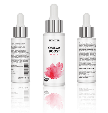 Omega Boost Facial Oil